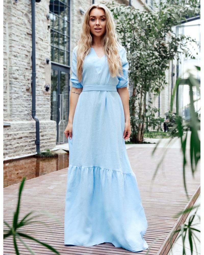 SUMMER COMET MAXI DRESS BLUE