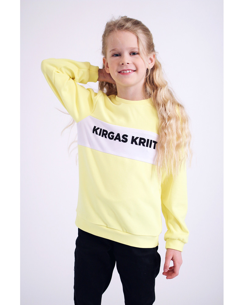KIRGAS KRIIT YELLOW KIDS SWEATER