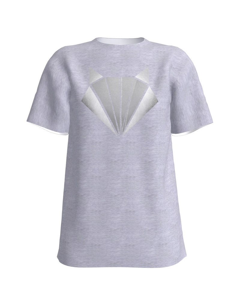 SILVER FOX UNISEX T-SHIRT LIGHT GREY