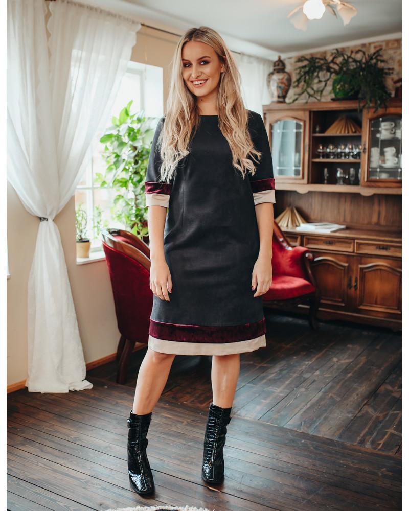 LAYERCAKE DRESS BLACK