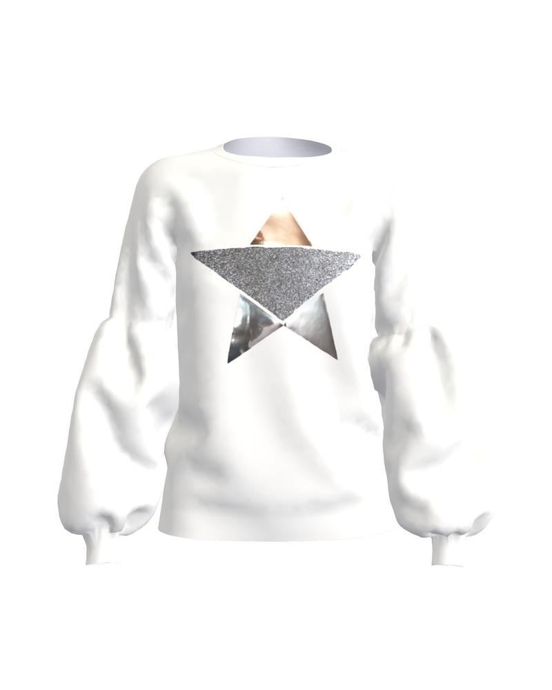 SILVER STAR ALICE SWEATSHIRT WHITE