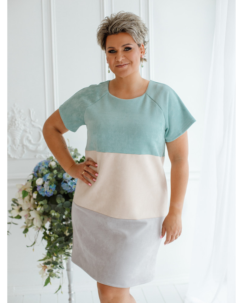 TRIO FREE DRESS PASTEL MINT