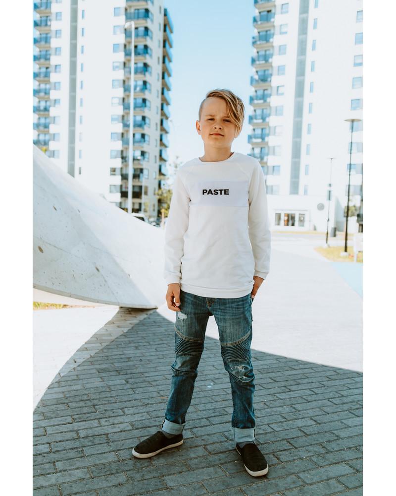 PASTE KIDS SWEATSHIRT WHITE