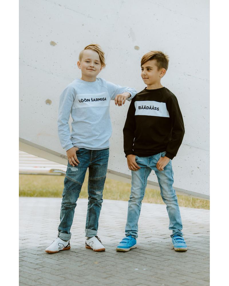 GREY LÖÖN ŠARMIGA KIDS SWEATER