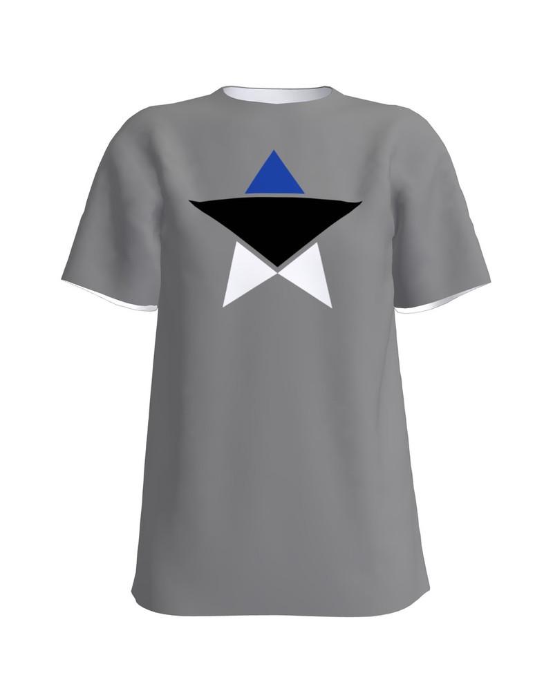 ESTONIAN STAR UNISEX T-SHIRT DARK GREY
