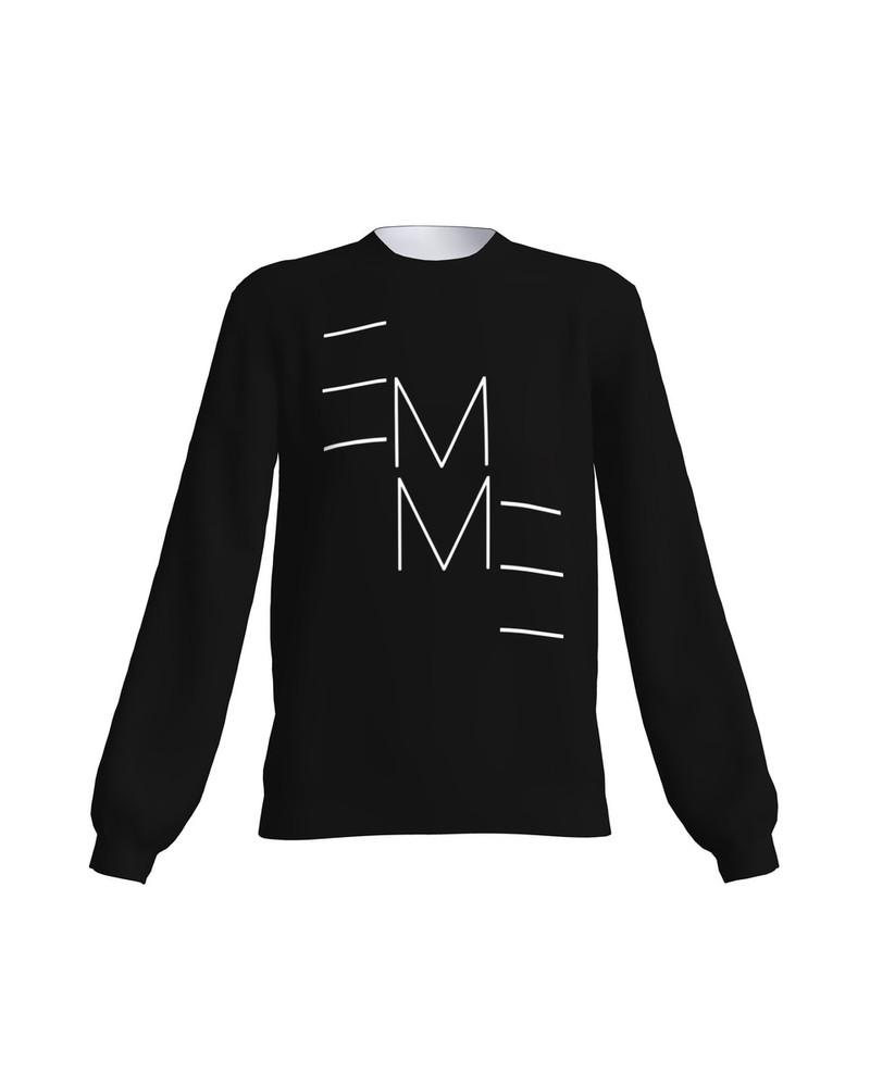 EMME SWEATSHIRT BLACK