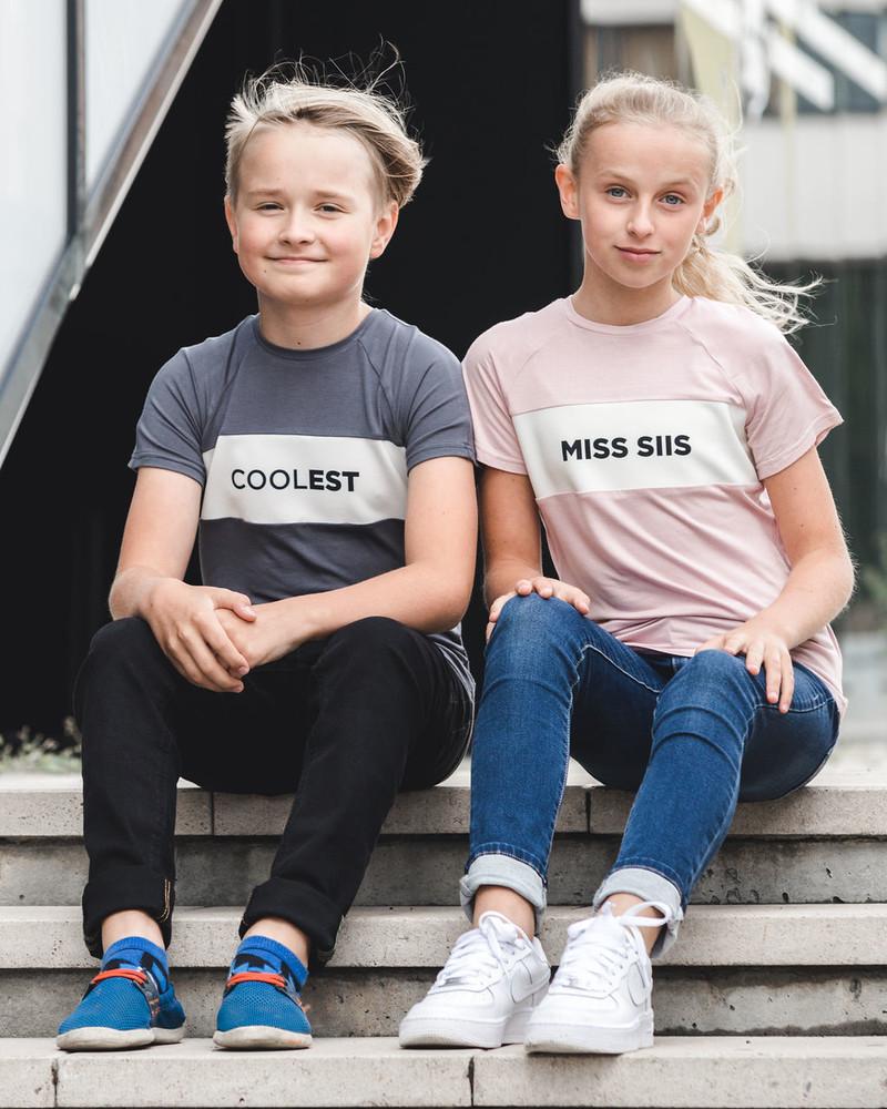 MISS SIIS KIDS T-SHIRT BLUSH
