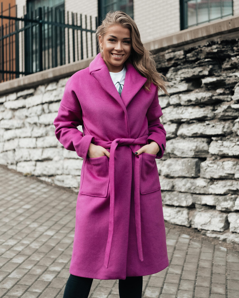 DREAMY COAT PURPLE