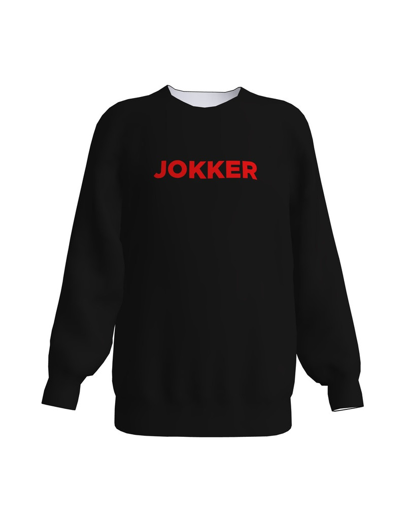 JOKKER KIDS SWEATSHIRT BLACK