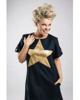 GOLD STAR DRESS