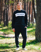 LÖÖN ŠARMIGA BLACK SWEATER