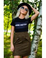 MINE METSA BLACK T-SHIRT