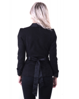 BLACK SUEDE MOON JACKET