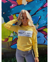 YELLOW TALLINN DOLLS SWEATER