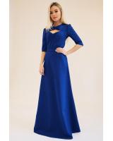 BLUE MISSES MAXI DRESS