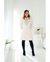 Silver Star hooded peachy dress