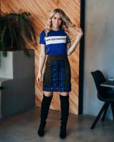 BLUE MIS?ESTONIA WAVE T-SHIRT