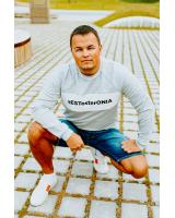 tESTosterONIA GREY SWEATER