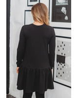 CUSTOM BLACK SWEATERDRESS