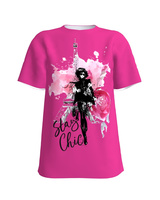 STAY CHIC PINK T-SHIRT