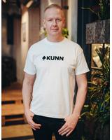 WHITE KUNN PRINT T SHIRT