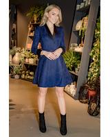 BLUE SUEDE MOON DRESS