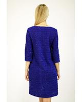 BLUE STAR KNIT DRESS