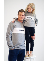 GREY PASTE SWEATER FOR KIDS