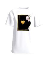 Gold heart T-Shirt
