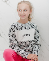 PASTE DOGS KIDS SWEATER