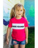 MISS IGANES KIDS T-SHIRT FUCHSIA