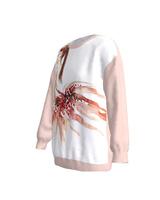 Dreaming Ballerina Loose Sweatshirt Pink