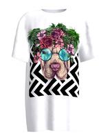 Flower Doggo T-Shirt