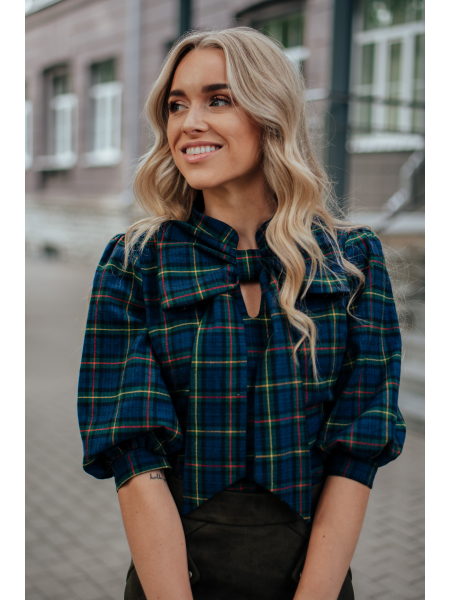 BOW SHIRT NON-STRETCHY