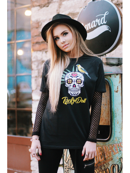 ROCK N DOLL T SHIRT