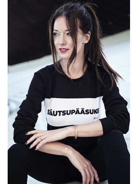 SÄUTSUPÄÄSUKE BLACK SWEATER