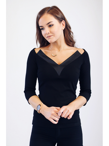 BLACK MIDNIGHT BLOUSE