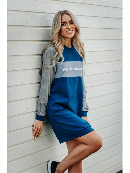 BLUE GREY HELGELTNÄGIJA DRESS