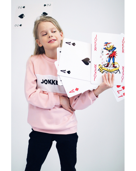 JOKKER PINK SWEATER FOR GIRLS