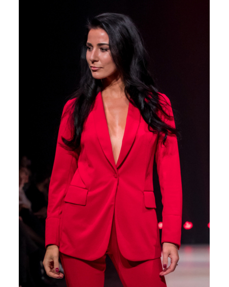 FIERCE RED SUIT JACKET