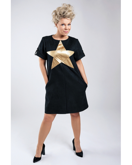 GOLD STAR DRESS
