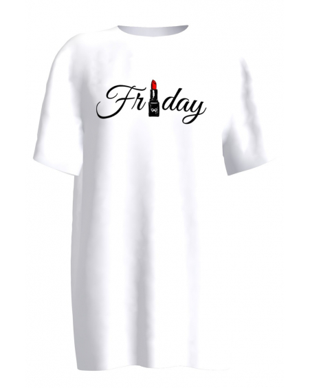 WHITE FRIDAY PRINT T SHIRT