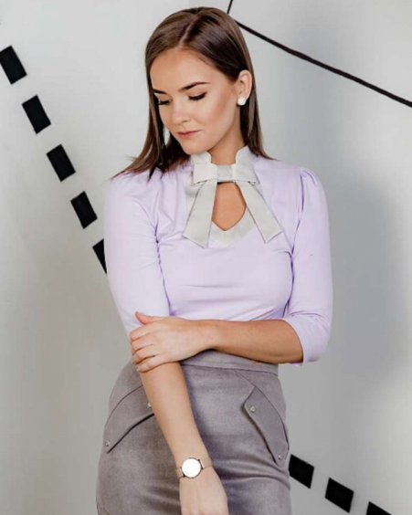 LILAC DOLLABLE SHIRT