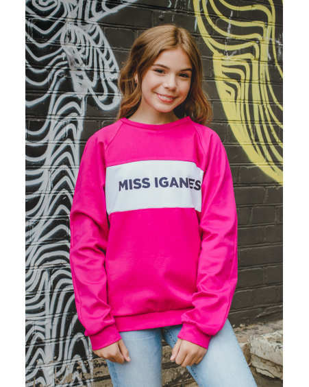 MISS IGANES PINK KIDS SWEATER
