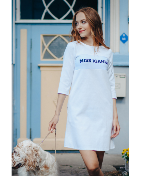 MISS IGANES WHITE DRESS