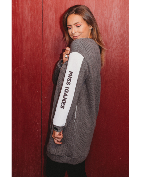 MISS IGANES OVERSIZE KNIT DRESS