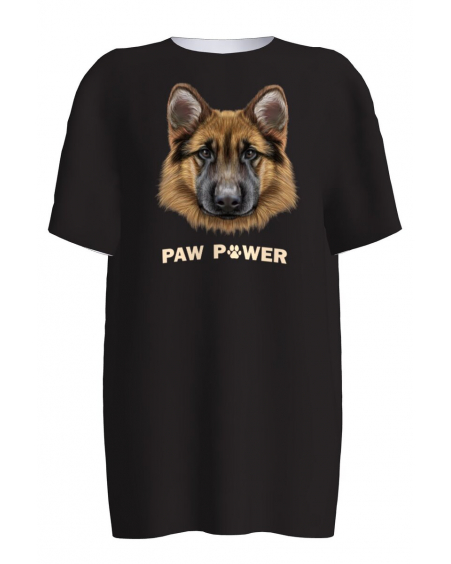 GERMAN SHEPARD PRINT T-SHIRT
