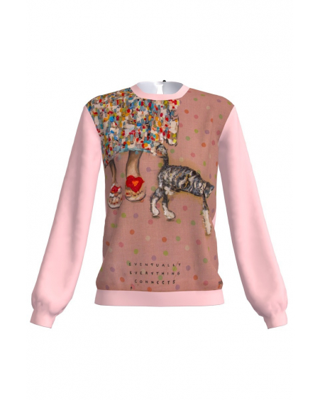 SAAR PINK SWEATER