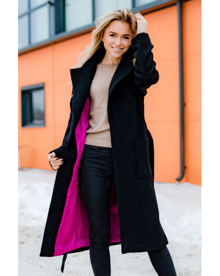 BLACK DREAMY COAT