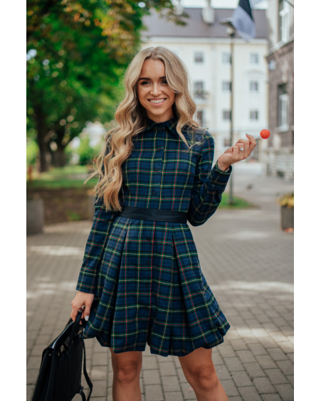 GIRLFRIEND SQUARE DRESS